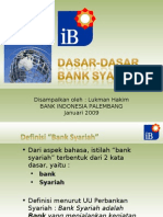 Dasar-Dasar Bank Syariah