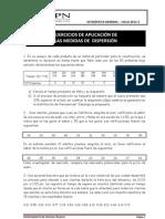 Practica de Medidas de Dispersion