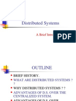 Distributed systems-A Brief Introduction