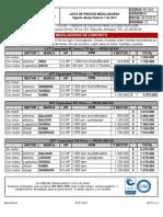 M1-G04 Lista de Precios Fecon 2013