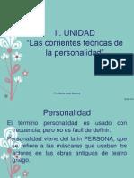 II Unidad, Las Corrientes Teoricas de La Personalidad__Psicologia Del Desarrollo