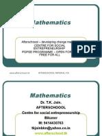 10 July Mathematics