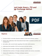 International Trade Theory Fdi and Foreign Exchange Market