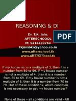 18 June Reasoning & Di
