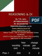 19 June Reasoning & Di