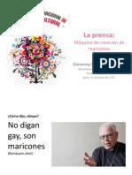 La Prensa - Encuentro Periodistas Culturales