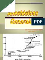 ANESTESICOS GENERALES 2012