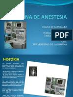 Maquina de Anestesia