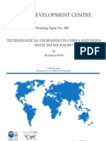 OECD Working Paper on China- India technology Achievements