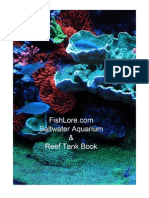 Saltwater Aquarium Reef Tank Book