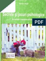 Adrian Nuta, Secrete Si Jocuri Psihologice