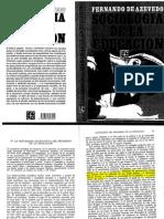 1.4. DE AZEVEDO, Fernando. La educación, proceso social general. pp. 81 - 87 , 92 - 98