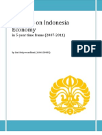 Progress on Indonesia Economy
