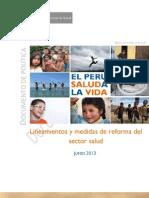 Reforma Salud Peru 2013