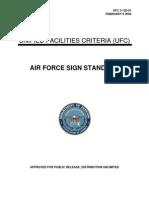 USAF Base Signs Design Guide