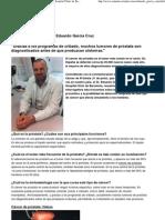 Cáncer de próstata. Eduardo García Cruz