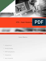 ATG CA Versioning Training