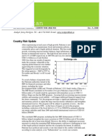 SEB Country Analysis 2008 Pakistan
