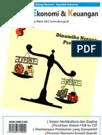 Tinjauan Ekonomi dan Keuangan Edisi Maret