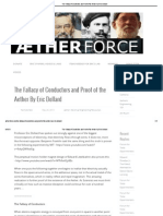 The Fallacy of Conductors and Proof of the Aether by Eric Dollard