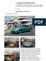 Die größte Porsche-Parade Europas in St. Tropez