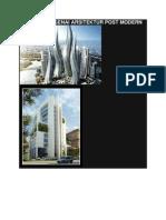 Sekilas Mengenai Arsitektur Post-modern