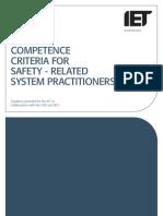 Competence Criteria for SR S P