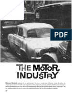 Duncan Macbeth- The Motor Industry