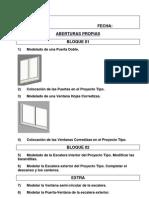 Clase 09 - Modelado de Aberturas