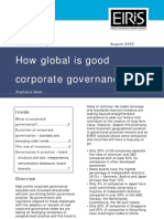 How Global is Good Corp Gov 05