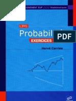 Probabilités exercices corrigés-edition EDP Sciences