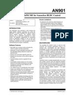Sensorless BLDC control
