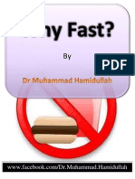 Why Fast? by Dr Muhammad Hamidullah