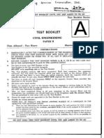 Civil Objective 2010 Paper-II