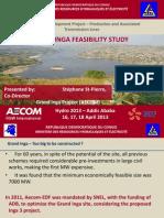 etude de faisabilité INGA aecom