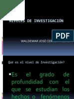 Niveles de Investigacic3b3n