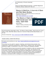 Andrea Major Slavery and Abolitionism in India and Britain.