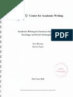 CEU Academic Writing Textbook (2010)