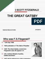 Francis Scott Fitzgerald The Grat gatsby
