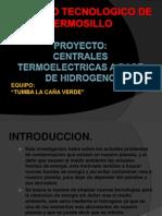 Centrales Termoelectricas a Base de Hidrogeno