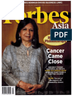 Forbes Asia - Heroes of Philanthropy June 2013