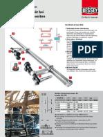 BESSEY Variable Hochleistungs-Zwingen SLV und GSV