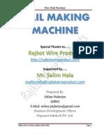 Nail Making Machine, Rajkot Wire Products
