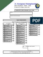 F4- FINAL Teams Entry Form