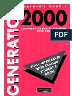 Teacher's Book-generation 2000