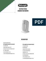 Delonghi DCH5091ER Manual