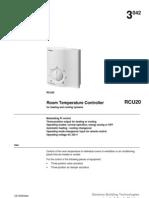 siemensRCU Series Room Temperature Controllers