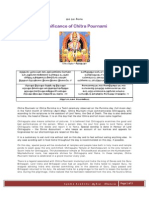 Significance of Chitra Pournami