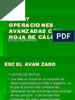 2.- CONTINUACIÓN DE EXCEL