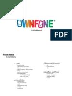 Profile Manual OwnFone®